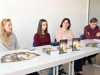 Knjigu su predstavile Mihaela Jović Karešin, Gordana Glibo te Dženita Lazarević
