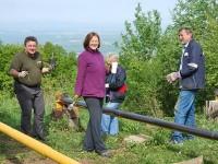 Članovi Planinarskog društva Psunj