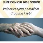 Volontiranje starijih osoba postaje značajan oblik aktivnog starenja