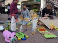 Volonteri Udruge Žmergo održali su radionicu izrade ukrasnih predmeta od raznih vrsta otpada.