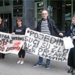 U Zagrebu održan prosvjed zbog sumnje u korupciju u sudstvu