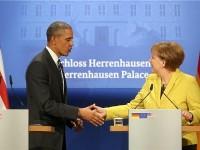"""""""TTIP je dobar za američko gospodarstvo, njemačko ali i europsko gospodarstvo, kazal je Merkel. (Foto Hina)"""