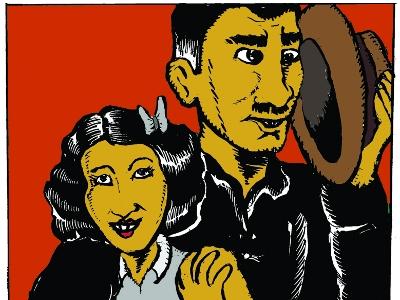 Saša Rakezić, poznatiji kao Aleksandar Zograf, za Zidne Novine pripremio je seriju stripova koja opisuje život likova poznate serije.
