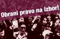 Obrani pravo na izbor: protestni skup, 21. 5. u 10 sati, Strossmayerov trg, Zagreb