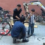 Svaki novi bicikl novi je znak nade za izbjeglice i tražitelje azila