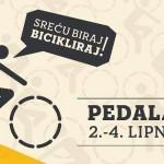 Festival Pedalafest: 'Sreću biraj, bicikliraj!', od 2. do 4. lipnja, Zagreb