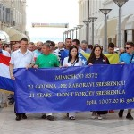 U Splitu Mimohod za žrtve Srebrenice