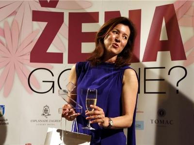 Dobitnica nagrade Martina Bienenfeld, foto: HINA