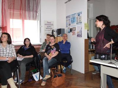 """Radionica u Novoj Gradišci, """"Upravljanje volonterskim radom"""""""