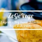 ZeGeVege festival održivog življenja, 2. i 3. rujna, Zagreb