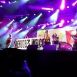 Dobrodošlica izbjeglicama na koncertu Manu Chao