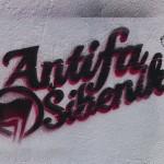 Antifa Šibenik u akciji brisanja fašističkih simbola