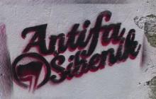 Potpisi Antifa vidljivi su na svakom koraku