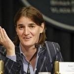 Ana Brnabić je prva gej ministrica u vladi Srbije