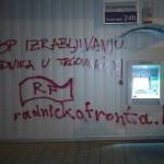 Radnička fronta upozorava na kršenje radničkih prava