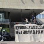 Poruka Bandiću: SMRDI! Odvajanje za svako kućanstvo, nema smrada za pučanstvo!