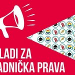 """Prosvjedna akcija """"Mladi za radnička prava!"""""""