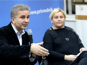 Na fotografiji Boris Rašeta i Helena Puljiz, foto HINA/ Lana SLIVAR DOMINIĆ/ lsd