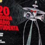 Radio Student velikim koncertom u Močvari slavi 20. rođendan, 26. 11.2016.