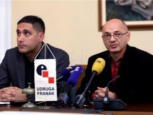 Na slici Denis Smajo i Goran Aleksić. foto HINA/ Denis CERIĆ /dc