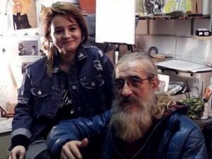 Foto: Antonella Šantek i Mile Mrvalj (udruga Fajter)