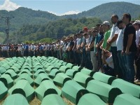 Srebrenica: Pokop 127 žrtava genocida, 11.7.2016 ,  foto HINA/ FENA/ Almir Razic/ ua