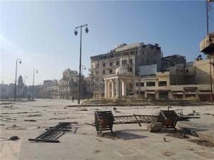Istočni dio Alepa, 10 prosinca 2016., Foto EPA
