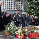 Izbjeglice i Berlinčani zajedno pjevali za žrtve napada na božićni sajam
