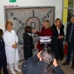 """Mozaik """"Beskonačno putovanje ka ljubavi"""" predan Odjelu za pedijatriju bolnice Pula"""