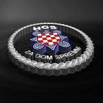 Zbog ustaškog pozdrava Varaždinska županija odbila registrirati grb HOS-a