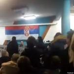 Na predavanju Veselina Šljivančanina pretučeni aktivisti Inicijative mladih za ljudska prava Srbije