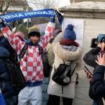 Prosvjed studenata Hrvatskih studija