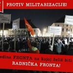 Policija Radničkoj fronti zabranila prosvjed