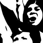 Na riječkom je Korzu održan prosvjedni performans 'Neću cvijeće, hoću prava!'