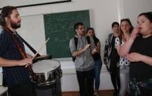 Studentski sabor nastavio je blokadu nastave na Hrvatskim studijima Sveučilišta u Zagrebu. foto HINA/ Lana SLIVAR DOMINIĆ/ lsd