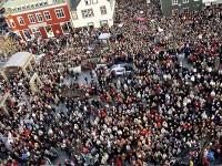 U listopadu su tisuće islandskih radnica napustile svoja radna mjesta točno u 14.38 sati kako bi protestirale zbog rodne nejednakosti u plaćama