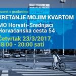 ODRAZ poziva na razgovor o mobilnosti stanovnike Gradske četvrti Trešnjevka-jug