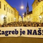 "400 ljudi na prvom  javnom okupljanju platforme ""Zagreb je NAŠ"""