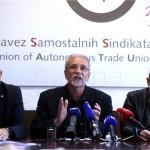 Zajednički sindikalni prvosvibanjski prosvjedni skup u Slavonskom Brodu