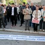 Prosvjednici protiv Frljića upali u kazalište