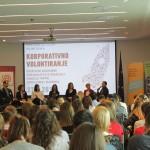 Održana prva hrvatska Konferencija o korporativnom volontiranju i Sajam volontiranja