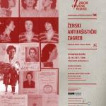 Otvorenje izložbe Ženski antifašistički Zagreb, petak, 28. 04. 2017. u 18 sati, Studio Kamov
