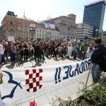 """Prosvjed """"Zajednice malih ljudi"""" nastavlja se danas u Zagrebu"""