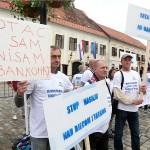 Na Međunarodni dan obitelji prosvjedovali očevi