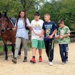 Volontere educiraju za terapiju pomoću konja