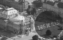 Antifašistička liga: Obranimo Trg maršala Tita!