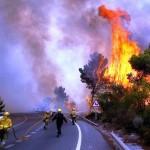 Zbog velikih požara evakuirano 10.000 ljudi