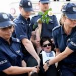 Poljska: Policija nasilno prekinula prosvjed antifašista i feministkinja