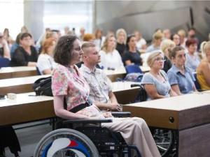 Na fotografiji pravobraniteljica za osobe s invaliditetom Anka Slonjšak. Foto HINA/ Daniel KASAP/ dk