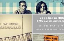 20. rođendan Centra za mirovne studije: 20 godina nemira